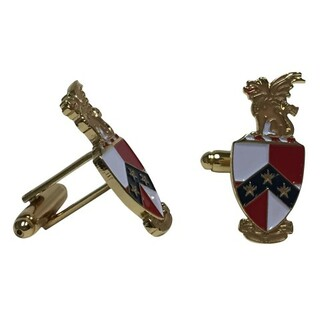 Beta Theta Pi Color Crest - Shield Cuff links