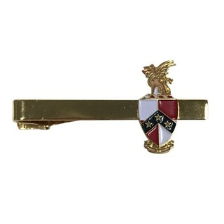 Beta Theta Pi Color Crest - Shield Tie Clips