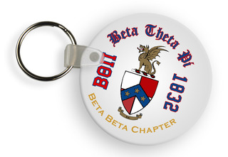 Beta Theta Pi Color Keychains