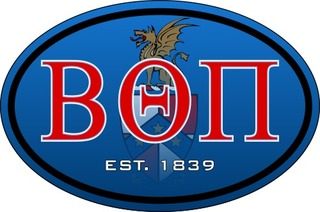 Beta Theta Pi Color Oval Decal