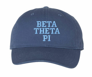 Beta Theta Pi Comfort Colors Pigment Dyed Baseball Cap