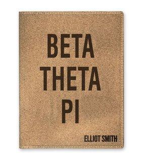 Beta Theta Pi Cork Portfolio with Notepad