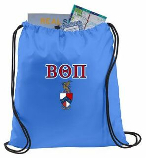 Beta Theta Pi Crest - Shield Cinch Sack