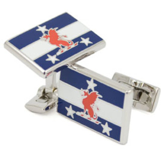 Beta Theta Pi Flag Cufflinks