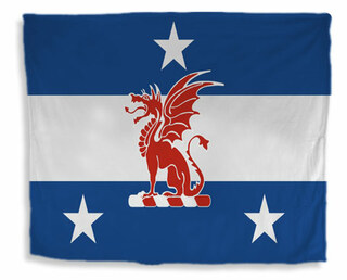 Beta Theta Pi Flag Giant Velveteen Blanket