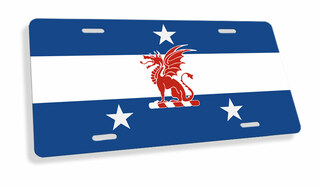 Beta Theta Pi Flag License Cover