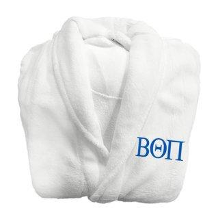 Beta Theta Pi Fraternity Lettered Bathrobe