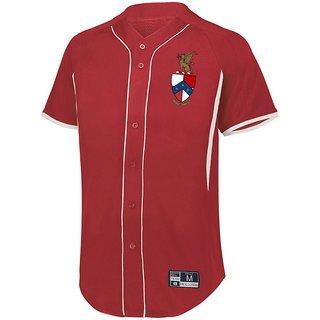 Beta Theta Pi Game 7 Full-Button Baseball Jersey