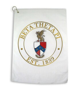 Beta Theta Pi Giant Crest Golf Towel