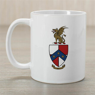 Beta Theta Pi Greek Crest Coffee Mug