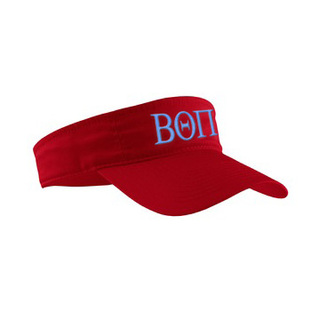 Beta Theta Pi Greek Letter Visor