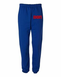 Beta Theta Pi Greek Lettered Thigh Sweatpants