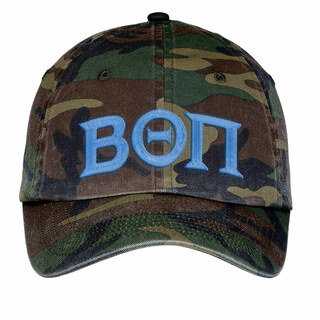 Beta Theta Pi Lettered Camouflage Hat