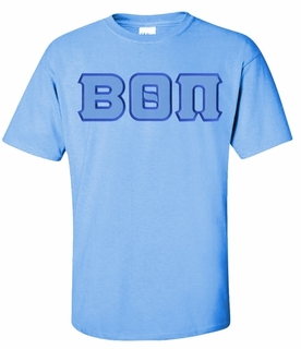 Beta Theta Pi Lettered T-shirt - MADE FAST!