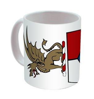 Beta Theta Pi Mega Crest - Shield Coffee Mug