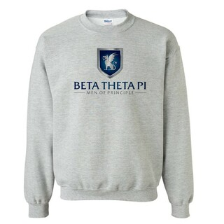 Beta Theta Pi Men Of Principle Crewneck Sweatshirt