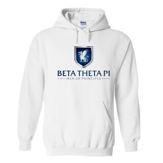 Beta Theta Pi Men Of Principle Hooded Sweatshirt