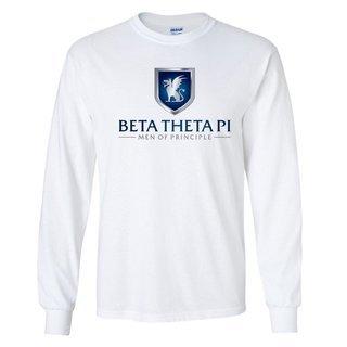 Beta Theta Pi Men Of Principle Long Sleeve Tee