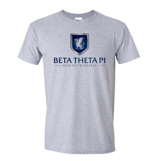 Beta Theta Pi Men Of Principle Short Sleeve Tee