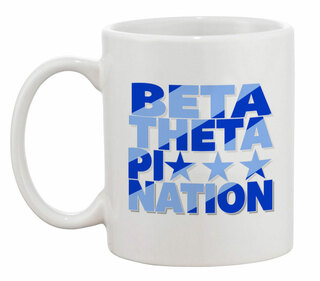 Beta Theta Pi Nations Coffee Mug
