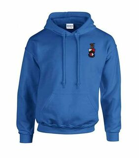 DISCOUNT-Beta Theta Pi Crest - Shield Emblem Hooded Sweatshirt