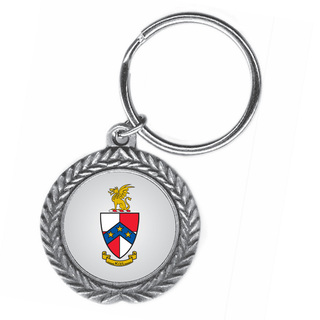 Beta Theta Pi Pewter Key Ring