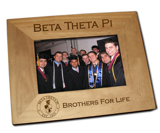Beta Theta Pi Picture Frame