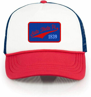 Beta Theta Pi Red, White & Blue Trucker Hat
