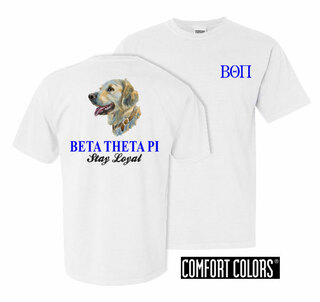 Beta Theta Pi Stay Loyal Comfort Colors T-Shirt