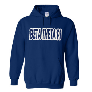 Beta Theta Pi Super Saver Letttered Name Hoodie