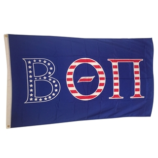 Beta Theta Pi USA Greek Letter Flag