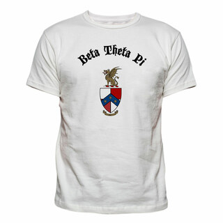 Beta Theta Pi Vintage Crest - Shield T-shirt