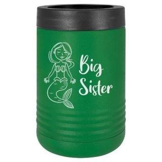 Big Sister Mermaid Stainless Steel Beverage Holder