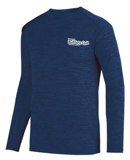 Builders Club- $20 World Famous Dry Fit Tonal Long Sleeve Tee