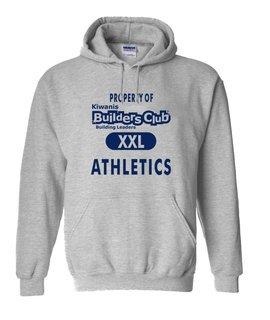Builders Club Property Of Athletics Hoodie
