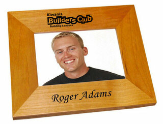 Builders Club Wood Picture Frame