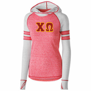 DISCOUNT-Chi Omega Advocate Lettered Hoody