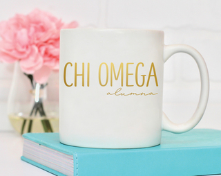 Chi Omega Alumna Mug