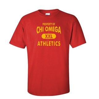 Chi Omega Athletics T-Shirts