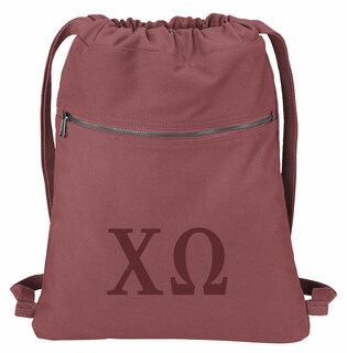 Chi Omega Beach Wash Cinch Pack