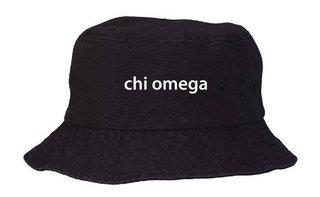 Chi Omega Bucket Hat