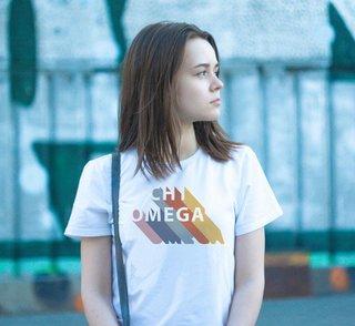 Chi Omega Califonic Tee - Comfort Colors