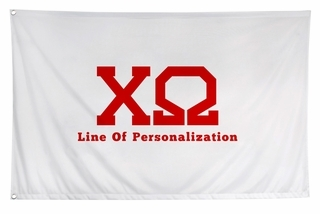 Chi Omega Flag