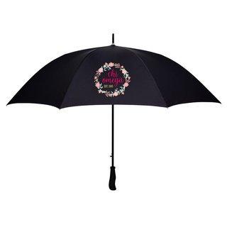 Chi Omega Floral Umbrella