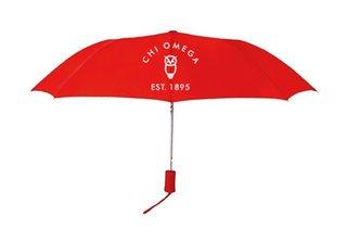 Chi Omega Mascot Umbrella
