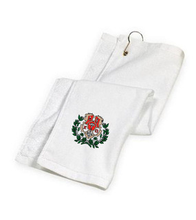 DISCOUNT-Chi Omega Golf Towel
