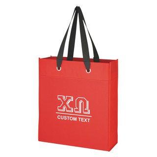 Chi Omega Grommet Tote Bag