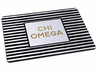 Chi Omega Striped Mousepads