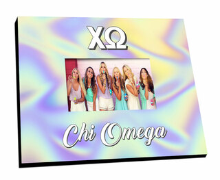 Chi Omega Holla Picture Frame