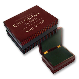 Chi Omega Mascot Keepsake Box